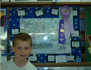 Adam's Poster & Ribbons.